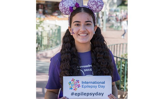 Epilepsy Awareness at Disneyland 2015 - Megan Mejia