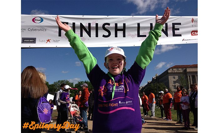 I did it! Epilepsy Walk 2013 - Megan Stelz