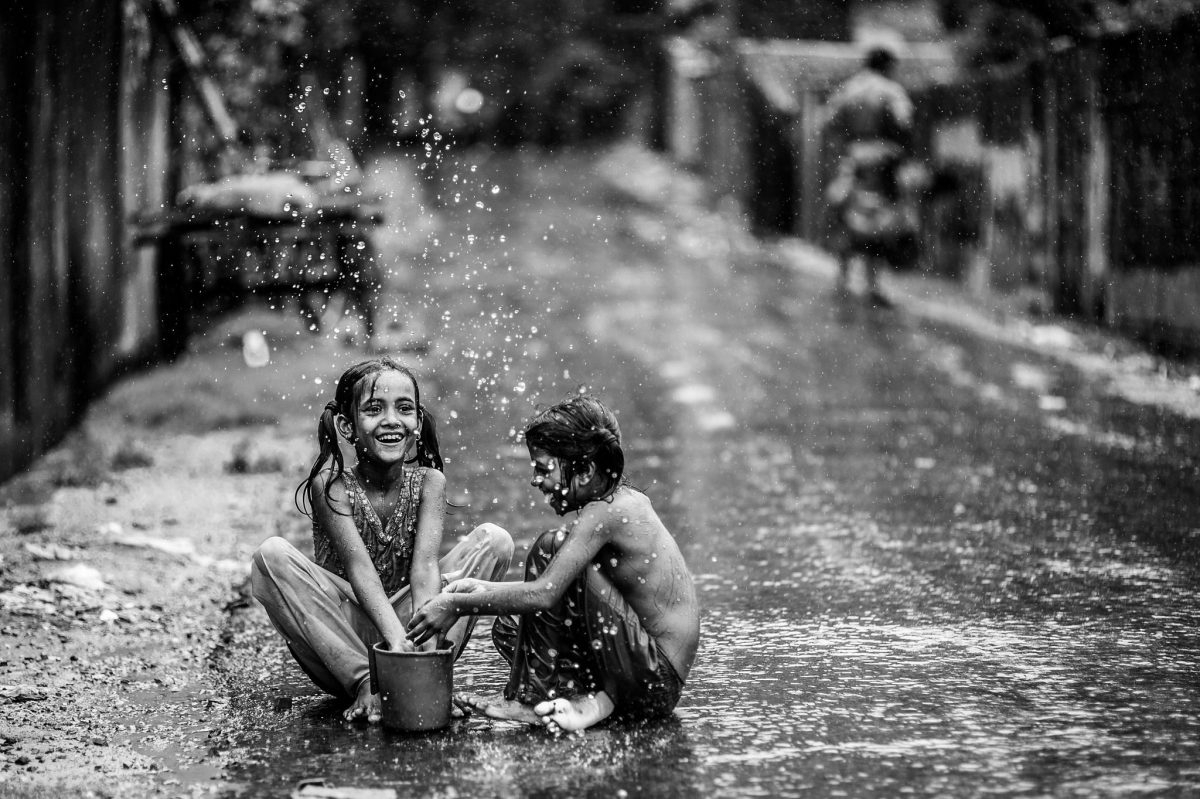 'Monsoon Splash' - Ata Adnan - Bangladesh