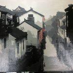 '冬日古镇' - Anqi Liu