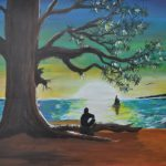 'Alone Under the Tree' - Dicky Ishkandar