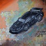 'Puzzle Sport Car' - Yap Kian Wei