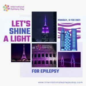 Let's shine a light for epilepsy