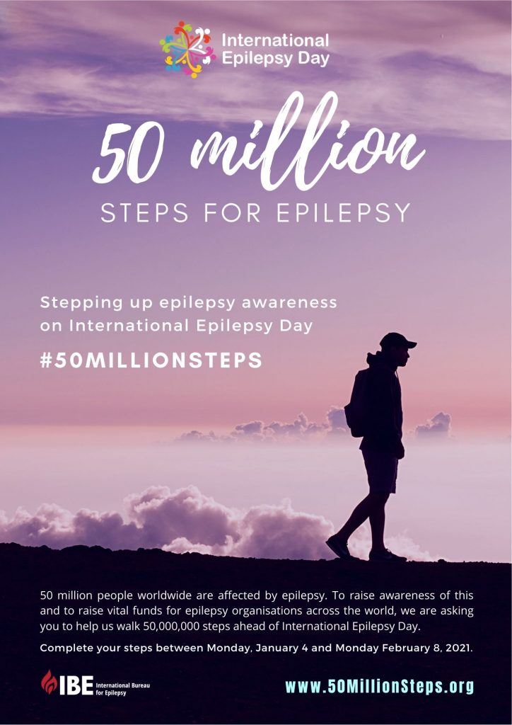 50 Million Steps for Epilepsy